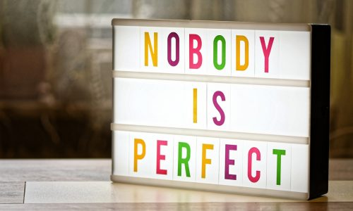 nobody is perfect, motivation, overhead projector-4393573.jpg